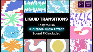 Liquid Transitions Pack Motion Graphics Template