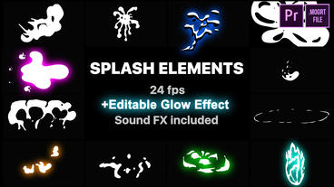 Splash Elements Motion Graphics Template