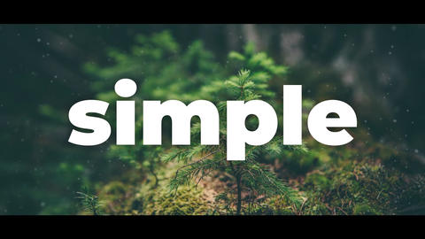 Simple Opener After Effects Template