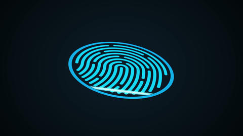 Fingerprint scan2 Animation