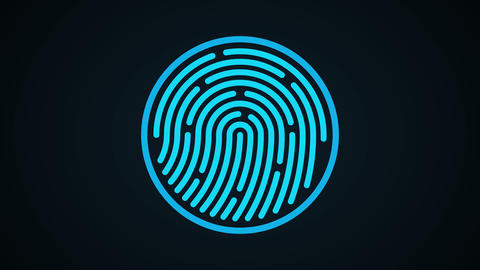Fingerprint scan4 Animation