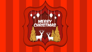Merry Christmas Intro After Effects Template
