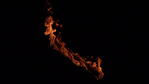 Slow Mo Fire Footage