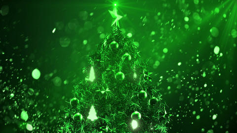 Christmas Tree color 4 Animation