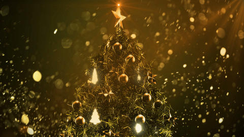 Christmas Tree color 3 Animation