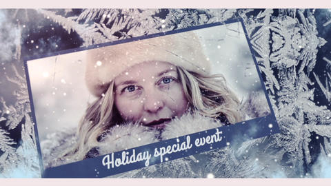 WINTER slideshow ME After Effects Template