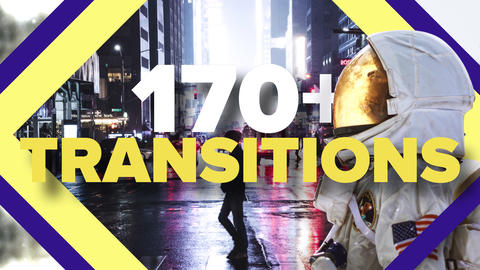 Modern Transitions Pack After Effects Template