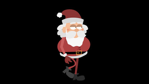 Santa Claus Animation Element 2 - cool walking Animación