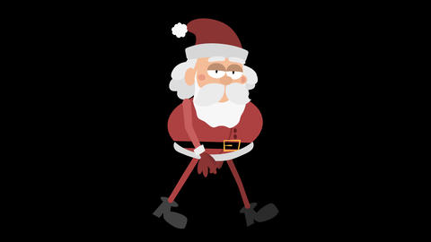 Santa Claus Animation 2 - cool walking Animation