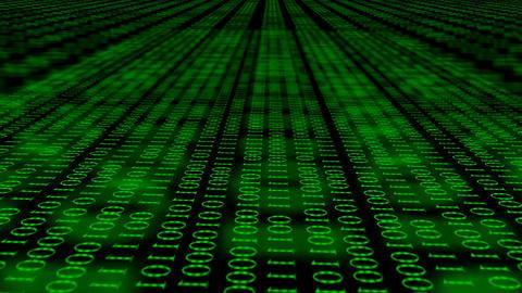 Binary code screen data code.Futuristic Technology Beautiful Loop Animation Animation