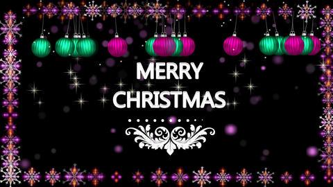 MERRY CHRISTMAS E-CARD Animation