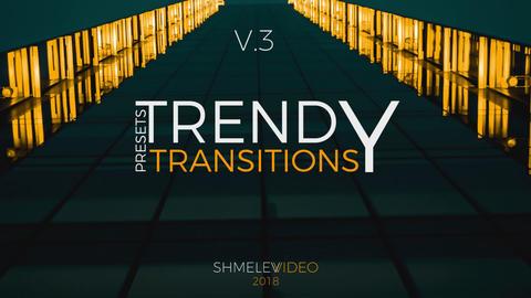 Trendy Transitions Presets V 3 Premiere Pro Template