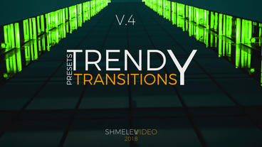 Trendy Transitions V 4 Premiere Proテンプレート