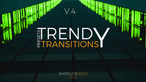 Trendy Transitions V 4 Premiere Pro Template
