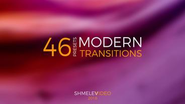 Modern Transitions Presets Premiere Proテンプレート
