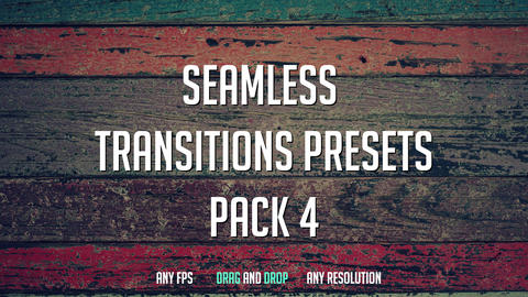 Exclusive Seamless Transitions Presets Premiere Pro Template