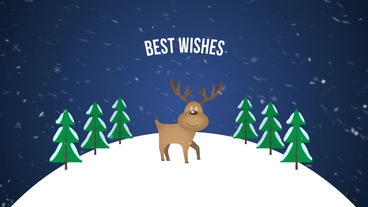 Christmas Greetings Plantilla de After Effects