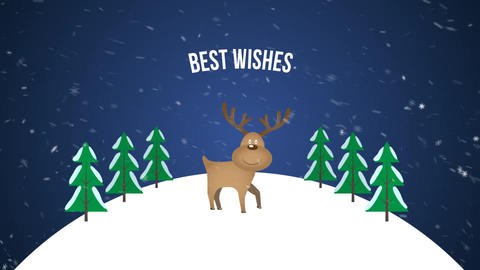 Christmas Greetings After Effects Template