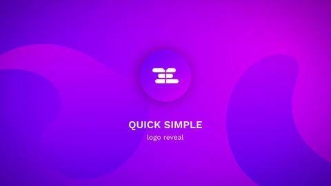 Quick Simple Logo Reveal After Effects Template