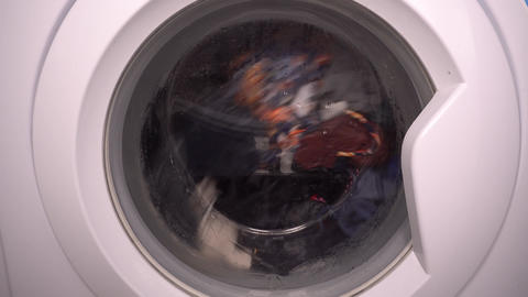 Washing machine in action Live Action