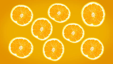 Happy Oranges screen Footage