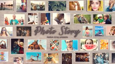 Photo Story After Effects Template