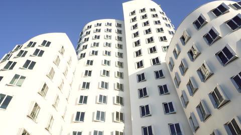 Architecture Design Building Exterior, Dusseldorf, Germany GIF