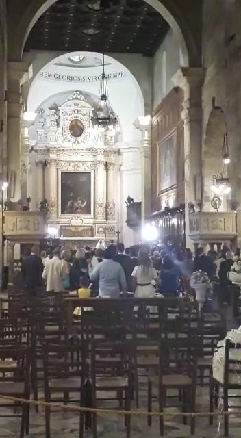Siracusa Cathedral Sicily Footage