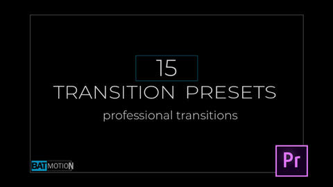 Transition Presets V.2 Premiere Pro Template
