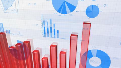 Business Graph 18 4 BnG1r 4k 애니메이션