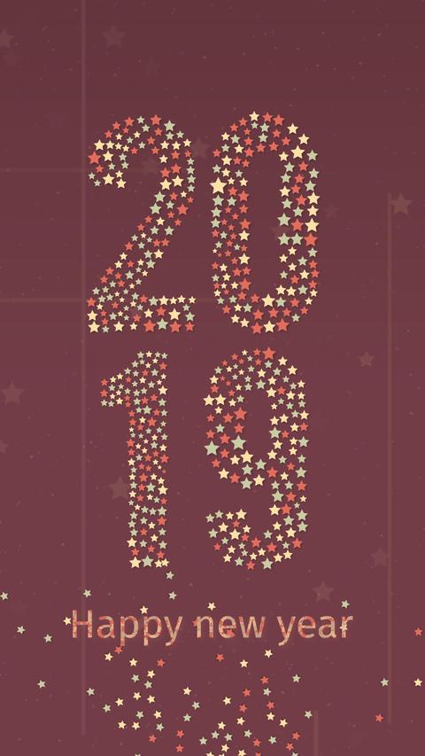 New Year Countdown 10sec Portrait GIF