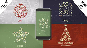 Christmas Symbols After Effects Template