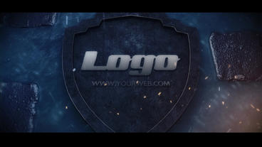 Logo on the road After Effects Template