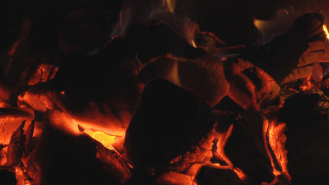 live coals Stock Video Footage