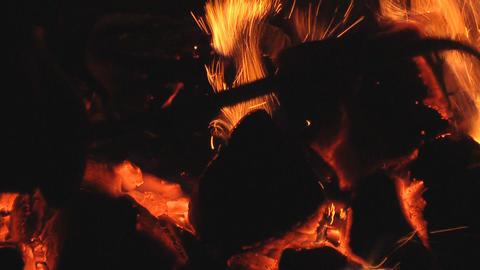 live coals Stock Video Footage