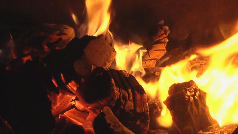 live coals loop Footage
