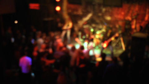 Club concert background Stock Video Footage