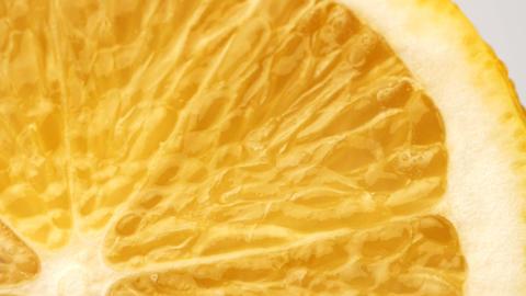 Lemon macro Stock Video Footage