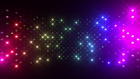 Led wall 2f Cb 2 R 1s HD Stock Video Footage