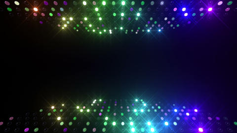 Led wall 2f Db 2 R 1 HD Stock Video Footage
