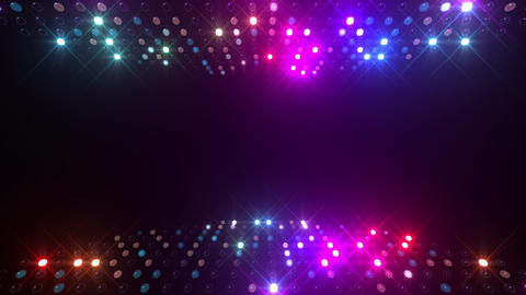 Led wall 2f Db 2 R 2s HD Stock Video Footage