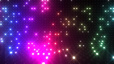 Led wall 2f Eb 1 R 1t HD Stock Video Footage