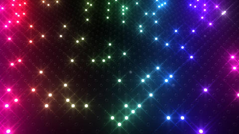 Led wall 2f Gb 1 R 1t HD Stock Video Footage