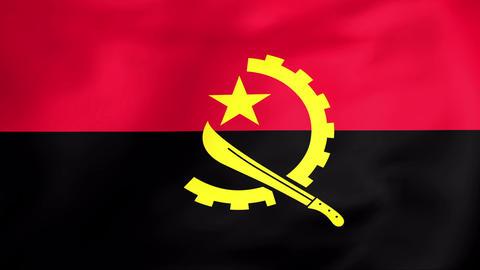 Flag Of Angola Animation