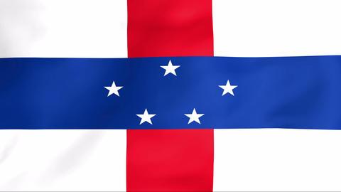 Flag Of Netherlands Antilles Animation