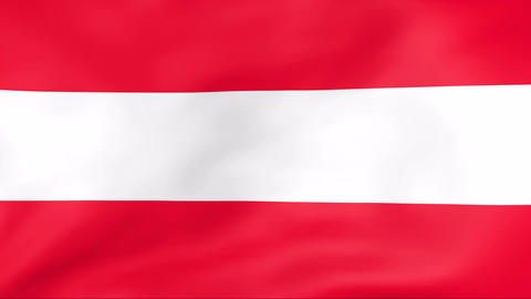 Flag Of Austria Stock Video Footage