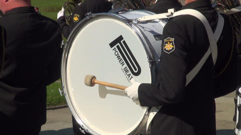 Orchestral drum Stock Video Footage