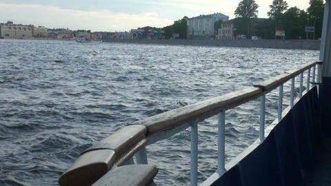 Travel on the water Stock Video Footage