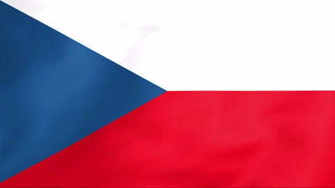 Flag Of Czechia Animation