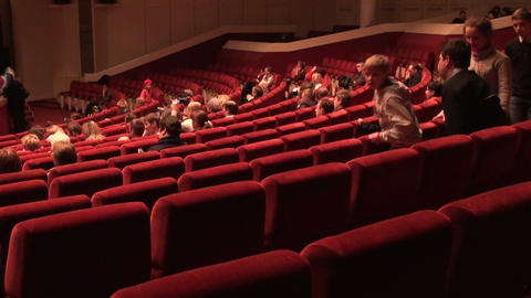 The audience in the cinema Footage